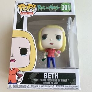 Funko POP Animation Rick and Morty #301 BETH